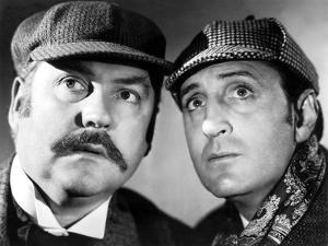 The Hound Of The Baskervilles, Nigel Bruce & Basil Rathbone, 1939