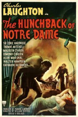 The Hunchback of Notre Dame, 1939, Poster Art