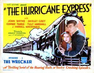 The Hurricane Express, Shirley Grey, John Wayne, 1932