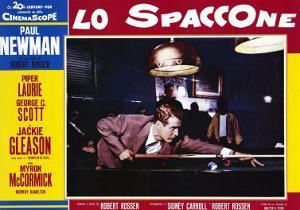 The Hustler, Italian Movie Poster, 1961