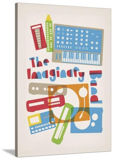 The Imaginary Band-Anthony Peters-Stretched Canvas