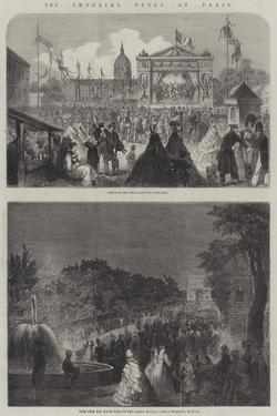 The Imperial Fetes at Paris
