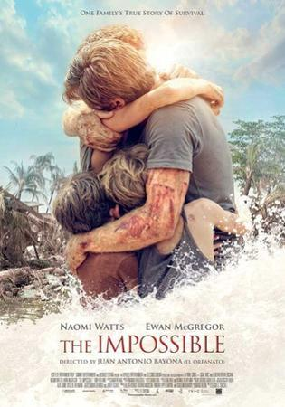 The Impossible (Naomi Watts, Ewan McGregor, Tom Holland) Movie Poster