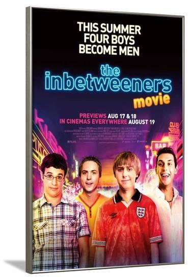 The Inbetweeners Movie--Framed Poster