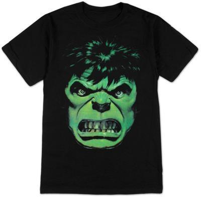 The Incredible Hulk - Angry Face