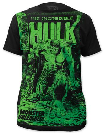 The Incredible Hulk - Monster Unleashed (slim fit)