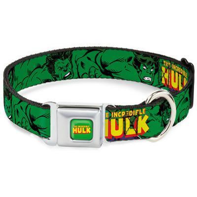 The Incredible Hulk - Repeat Dog Collar