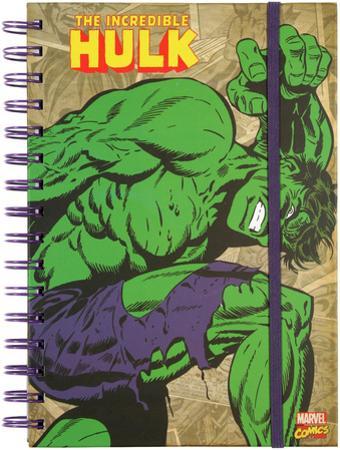 The Incredible Hulk Retro Spiral Journal