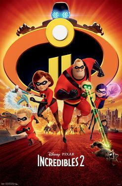 THE INCREDIBLES 2 - ONE SHEET