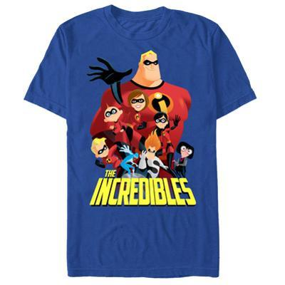 The Incredibles- Full Cast Ensemble