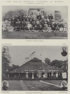 The Indian National Congress at Madras
