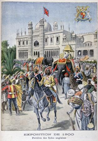 The Indian Pavilion at the Universal Exhibition of 1900, Paris, 1900