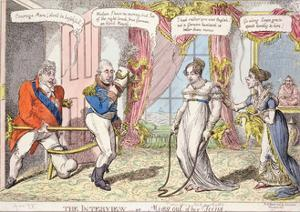 The Interview or Miss Out of Her Teens, 1816