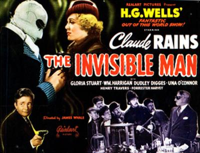 The Invisible Man, 1933