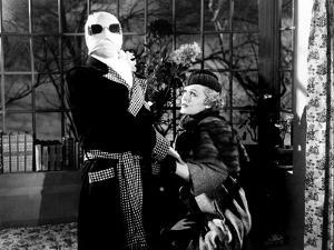 The Invisible Man, Claude Rains, Gloria Stuart, 1933