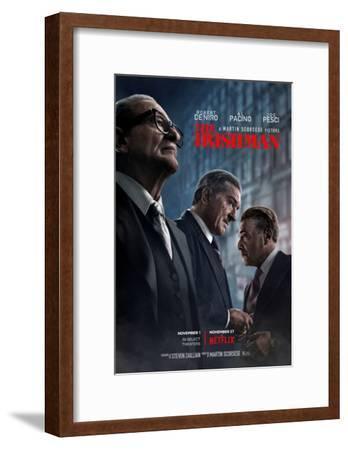 The Irishman--Framed Art Print