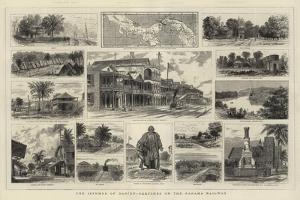 The Isthmus of Darien, Sketches on the Panama Railway