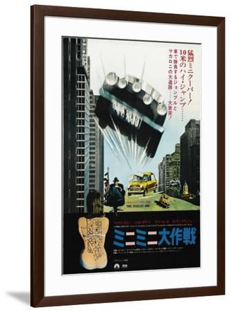 The Italian Job - Japanese Style--Framed Poster