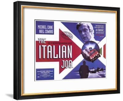 The Italian Job--Framed Masterprint