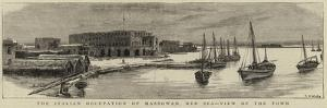 The Italian Occupation of Massowah, Red Sea, View of the Town