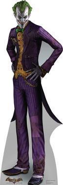 The Joker - Arkham Asylum Game Lifesize Cardboard Cutout