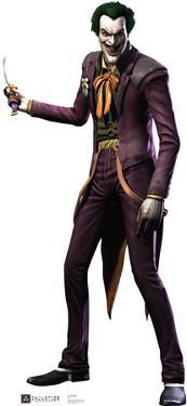 The Joker - Injustice DC Comics Game Lifesize Cardboard Cutout