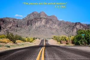 The Journey Not the Arrival Matters T.S. Eliot Quote