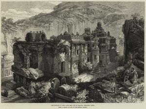 The Kailas, in the Cave Temples of Ellora, Western India