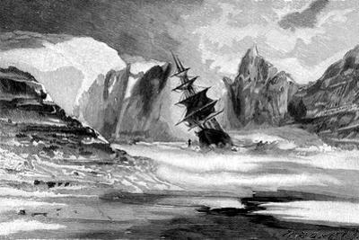 The Kane Expedition in the Ice of Smith Sound