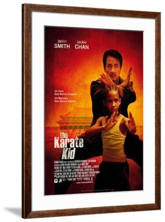 The Karate Kid - Spanish Style--Framed Poster