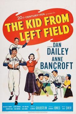 The Kid from Left Field, from Left: Billy Chapin, Dan Dailey, Anne Bancroft, 1953