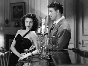 THE KILLERS, 1946 directed by ROBERT SIODMAK Ava Gardner / Burt Lancaster (b/w photo)