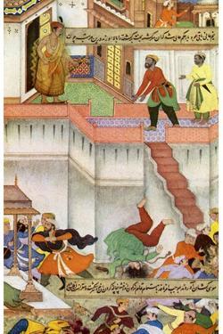 The Killing of Adham Khan by Akbar, C1600