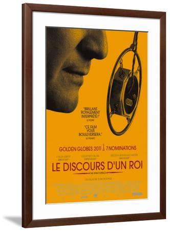 The King's Speech - French Style--Framed Poster