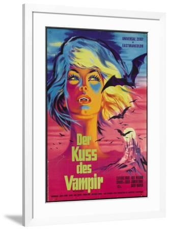 The Kiss of the Vampire - German Style--Framed Poster