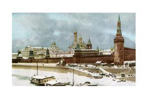 The Kremlin, Moscow, Russia, C1930s