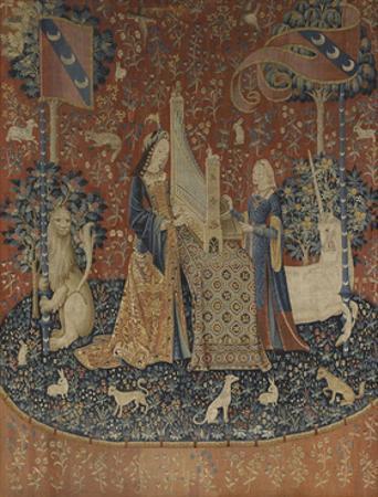 The Lady and the Unicorn (La Dame À La Licorne L'Ouï), Late 15th C