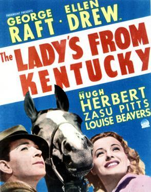 The Lady's from Kentucky - Movie Poster Reproduction