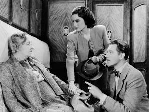 The Lady Vanishes, Dame May Whitty, Margaret Lockwood, Michael Redgrave, 1938