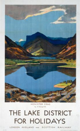 The Lake District for Holidays, LMS, c.1923-1939