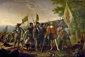 The Landing of Columbus Historical