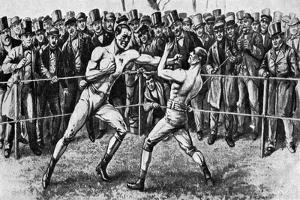 The Last Bare-Knuckle Fight, Farnborough, Hampshire, 17th April 1860