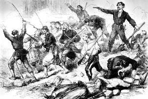 The Last Battle of the Communards May 1871, Paris Commune