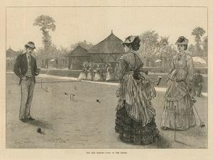 The Last Croquet Game of the Season