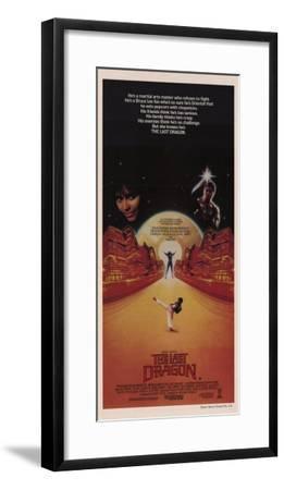 The Last Dragon--Framed Masterprint