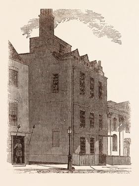 The Last London Residence of Sir Isaac Newton