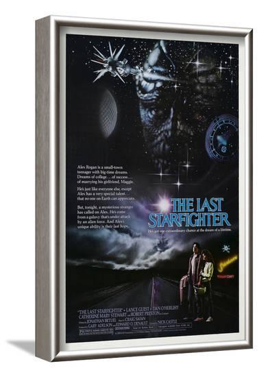 THE LAST STARFIGHTER [1984], directed by NICK CASTLE.--Framed Photographic Print
