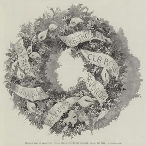 The Late Duke of Clarence, Funeral Wreath Sent by the Colonies, Canada, the Cape, and Australasia