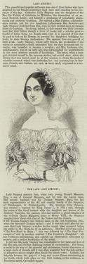 The Late Lady Stepney