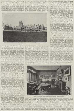 The Late Lord Randolph Churchill